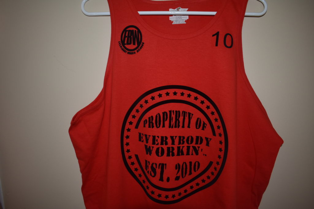 New Tank Top Everybody Workin' Seal of Approval available in red ,white, blacks Spring | Summer