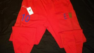Jogging pants sweatpants chenille patch aroc everybody Workin Lifestyle Brand Clothing designer